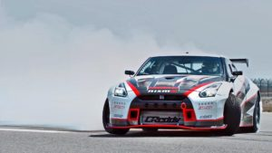 check out the fastest drift ever in a jaw dropping 1 380hp nissan gt r nismo