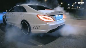 drift batl mercedes cls63 vs lex