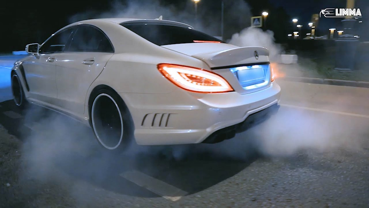 Дрифт батл: Mercedes CLS63 vs Lexus IS-F - Москва